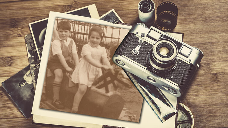 Restore photos