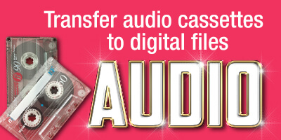 Transfer your audio tapes to CD