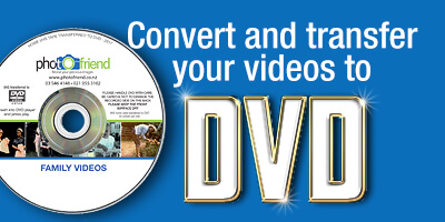 Convert your video to DVD