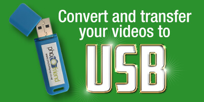 Convert your video to USB