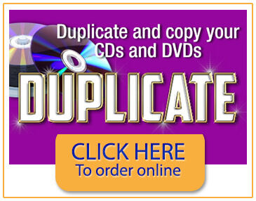 Duplicate DVD and CD